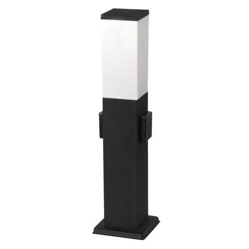 Kerti lámpa fekete , álló, 1XE27 230VAC, 500mm magas, IP44 Bonn 8339