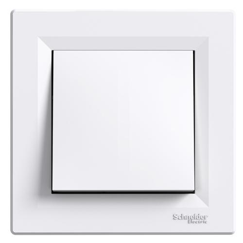 Asfora 101 kapcsoló kerettel fehér EPH0100121