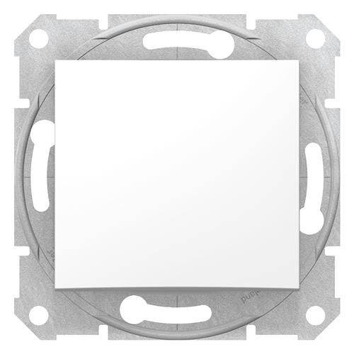 Sedna 106 váltó kapcsoló fehér, rugós bekötéssel  SDN0400121