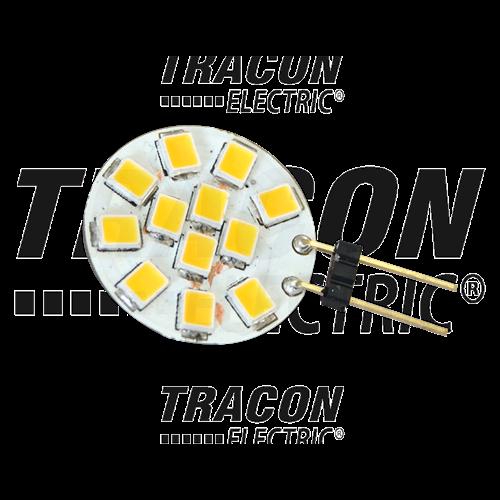 LED G4 12VAC/DC, 2W, 2700 K, 140 lm, 180° LG4K2W