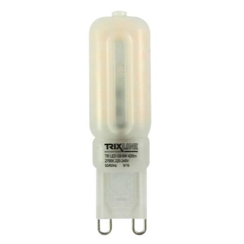 LED G9 230VAC, 6W, 2700K, G9, 480lm, 270°, EEI=A+